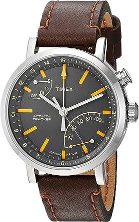 Timex Metropolitan + - Reloj Deportivo (Marrón, Acero Pulido, Gris ...