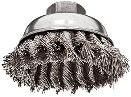 Box of 6 OSBORN Knot Wire Cup Brush 2-3//4in.dia 7//8 in.L