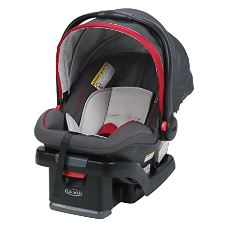 Graco SnugRide SnugLock 35 Infant Car Seat With Adjustable Base Chili Red One Size