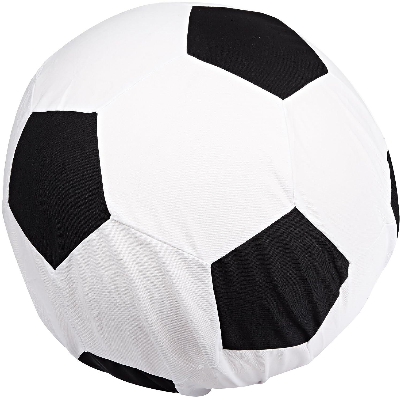 Sportime - Pelota gigante con funda lavable, diseño de fútbol, 101 ...