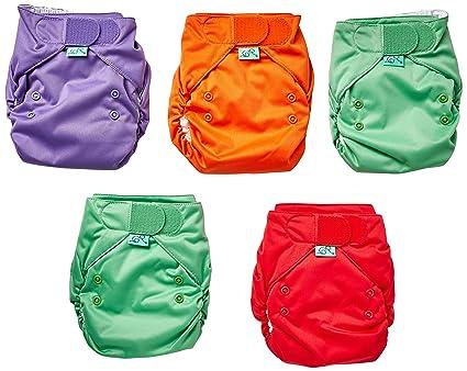 TotsBots Easyfit – Elevador Star Mini Pack pañales (tamaño 2, Rainbow, pack de