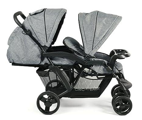 Carrito doble CHIC 4 Baby 273 34 Doppio: Amazon.es: Bebé