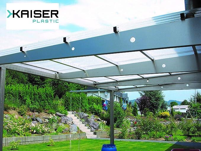 Kaiser Plastic® Placa ondulada, Xtra Strong (PC), lisa y ...