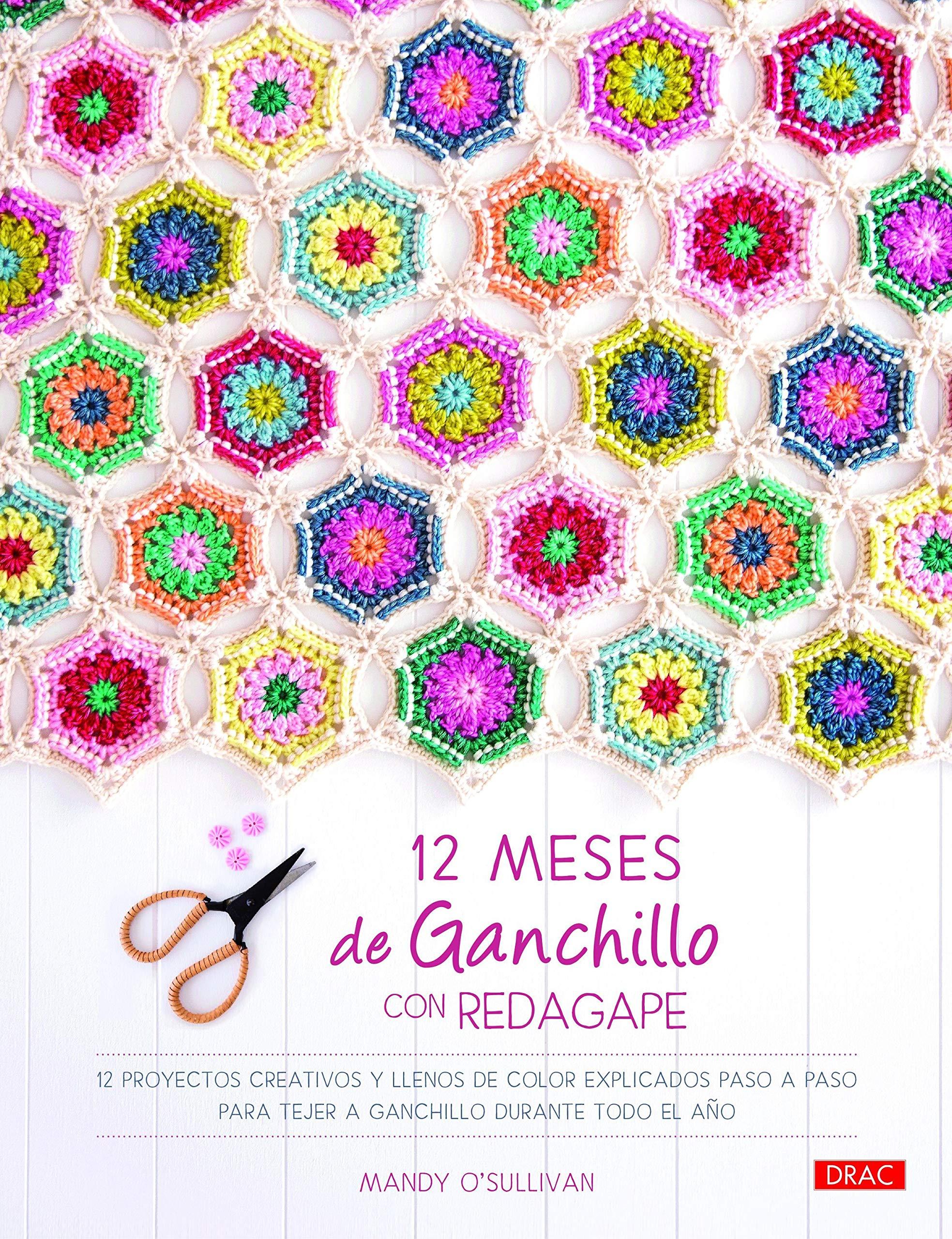 12 MESES DE GANCHILLO CON REDAGAPE: 12 proyectos creativos y ...