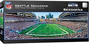 MasterPieces NFL Stadium Panoramic Jigsaw Puzzle, 1000-Piece