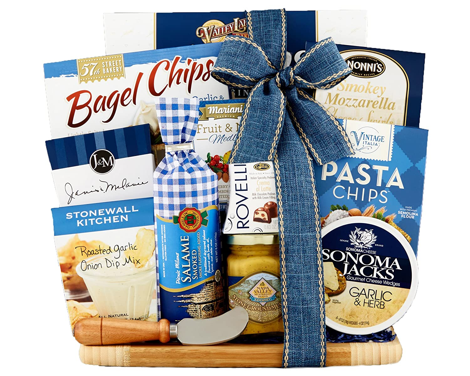 Amazon.com : Wine Country Gift Baskets Meat and Cheese Collection ...