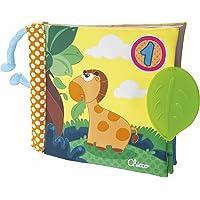 Chicco-00072376000000 Big & Small Juego Libro 1-2-3, Multicolor