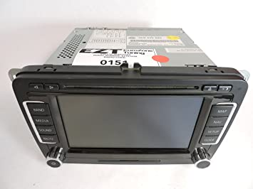 VW RNS510 navigation monitor, code card, gps antena