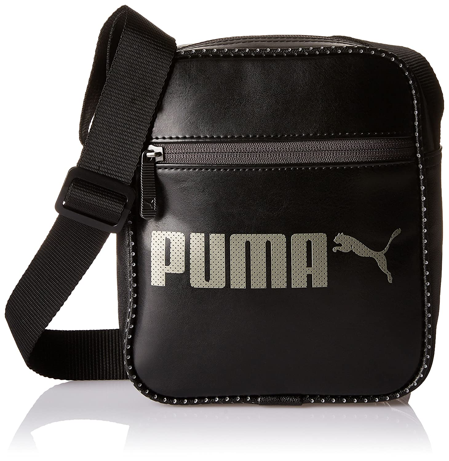 Puma Polyester Black Messenger Bag (7453601)  Amazon.in  Bags ... ae4903373389f