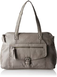 PIECES Pcabby Leather Bag Noos - Carteras de mano con asa Mujer