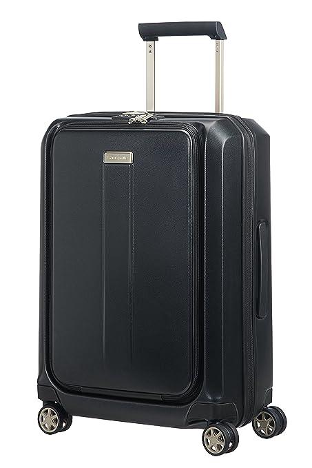 5fb4a107d8f Samsonite Prodigy Spinner 55 - 2,8 kg, Cabin Luggage, 55 cm, 40 L, Black:  Amazon.co.uk: Clothing