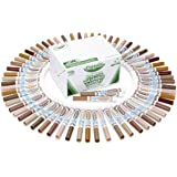Crayola; Classpack; Ultra-Clean; Multicultural Broad Line Markers; Art Tools; 80 Markers in 8 Different Colors; Washable