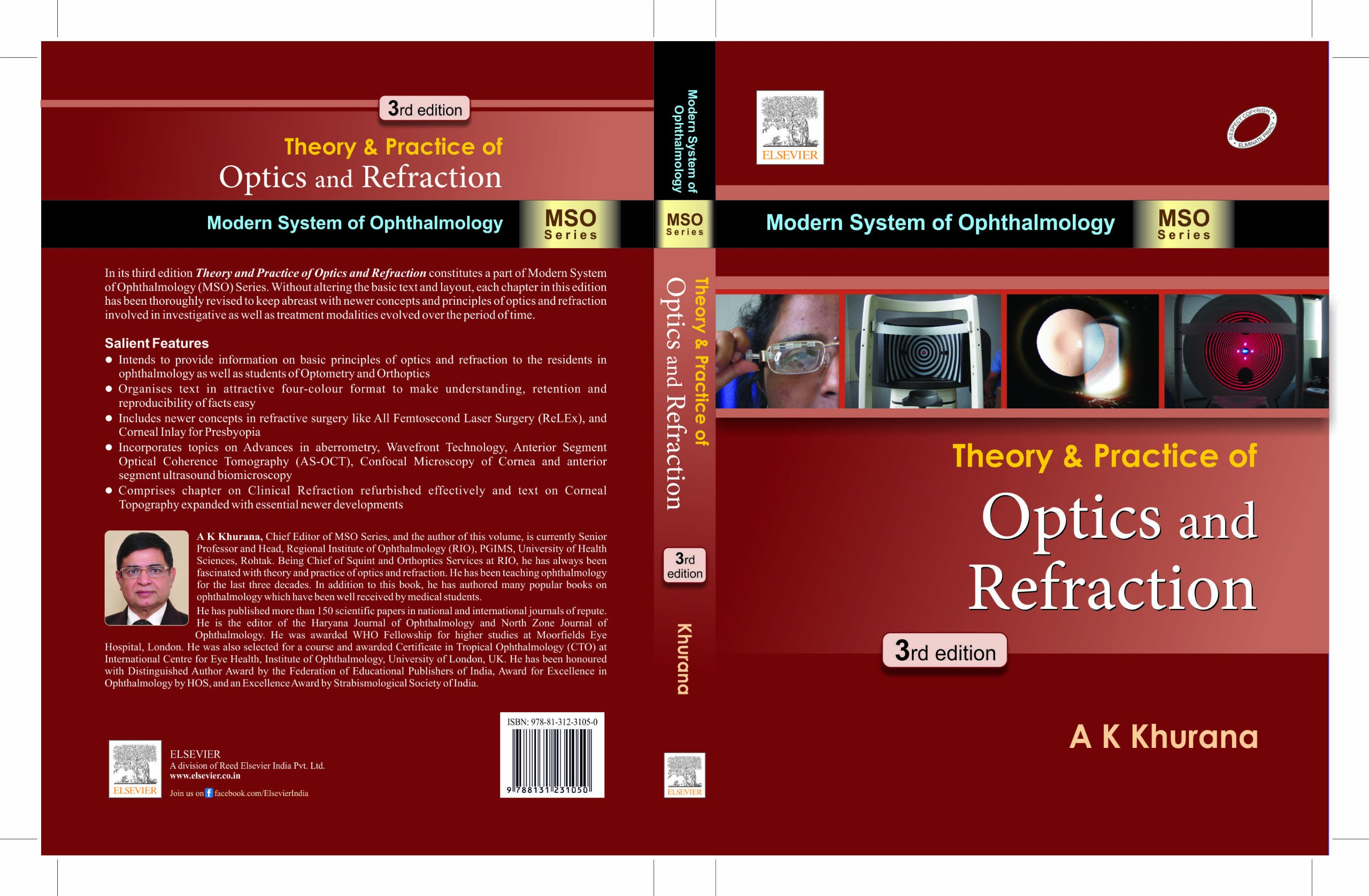 Buy Theory and Practice of optics and refraction Book Online at Low ...