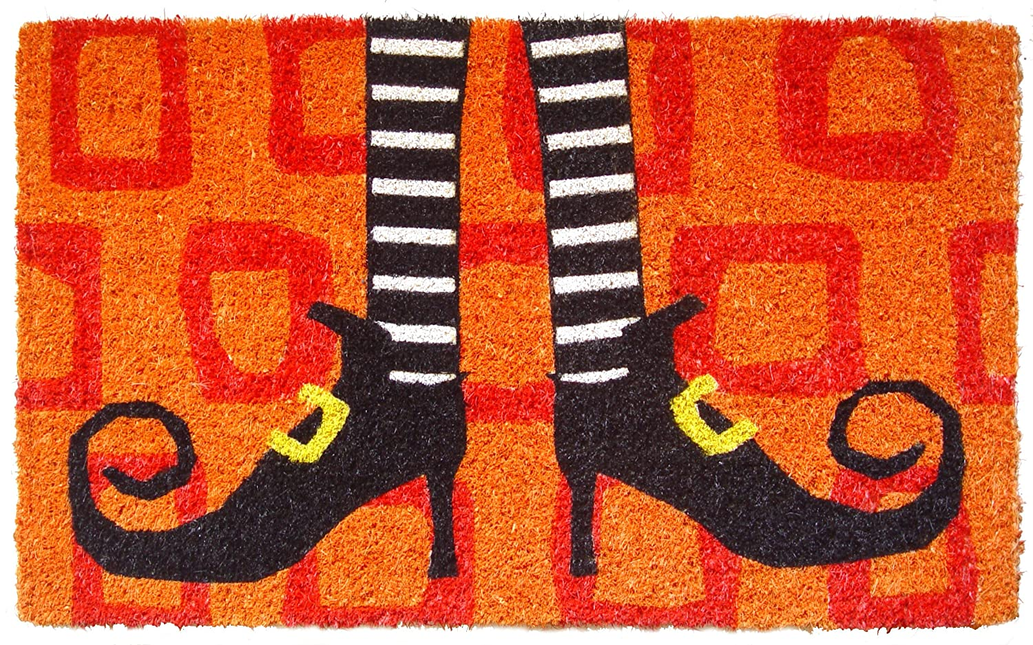 witch shoes doormat