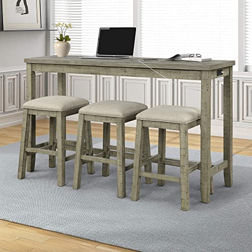 4-Piece Dining Room Table Set
