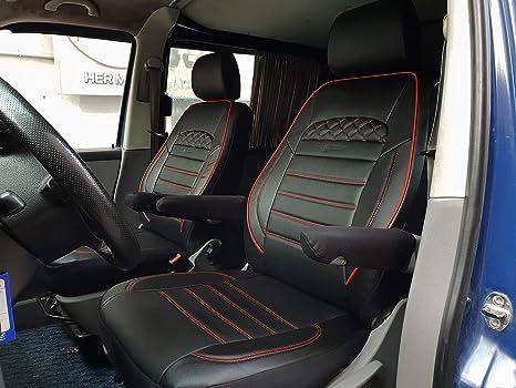 Sitzbezüge Bezüge VW T5 T6 Transporter Kasten Pritsche für Fahrersitz und Bank