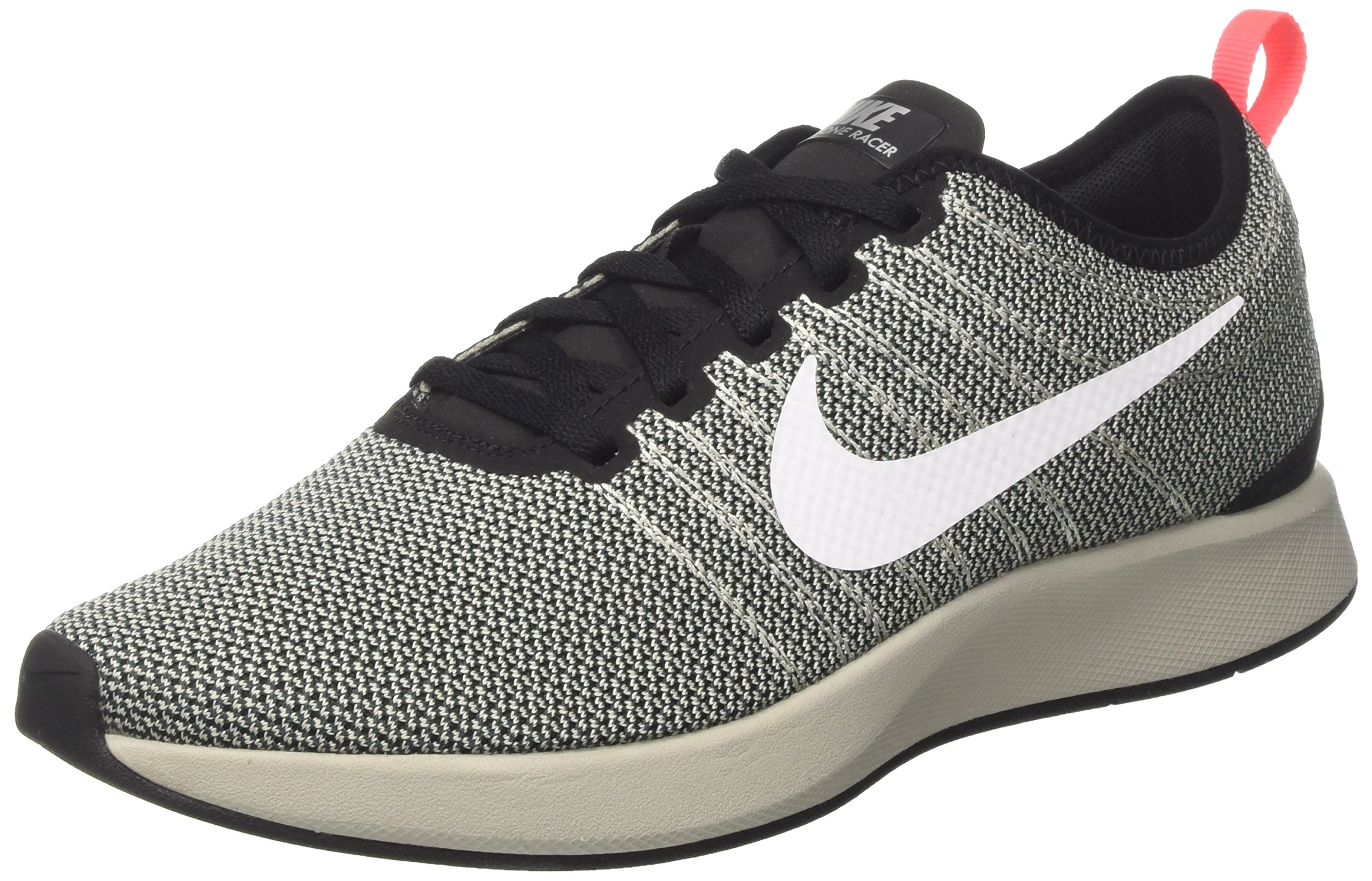 Nike Dualtone Racer Mens Running Trainers 918227 Sneakers Shoes (UK 6 US 7 EU 40, Black White Pale Grey 001)