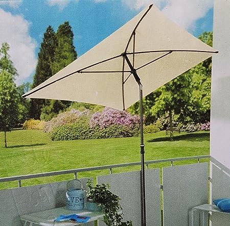 Amazon De Sonnenschirm 210x140 Gartenschirm Terrassenschirm Uv