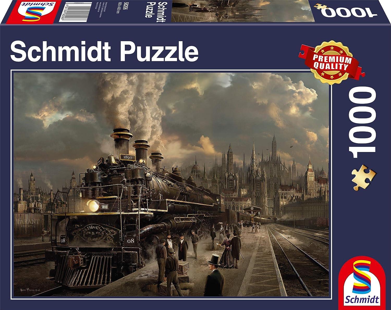 Locomotive Sarel Theron Train Puzzle 1000 Pièces 58206