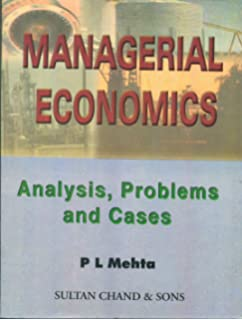 Amazon buy managerial economics book online at low prices in managerial economics analysis problems and cases fandeluxe Image collections