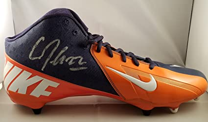 a7f6926bf916c CJ Anderson Autographed Signed Nike Cleat Denver Broncos Super Bowl ...