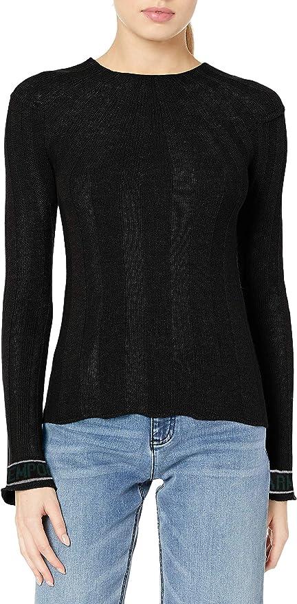 Emporio Armani 阿玛尼 女式圆领针织毛衣 含羊毛羊绒 S码1.4折$41.51 海淘转运到手约¥339