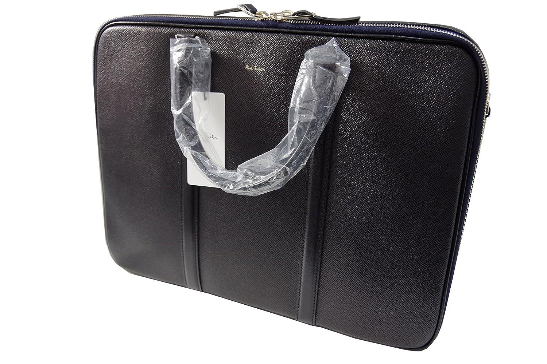 ポールスミス Paul Smith 高級 本革 ビジネスバッグ ブラック N13110 新品正規品 B079Y58CK3