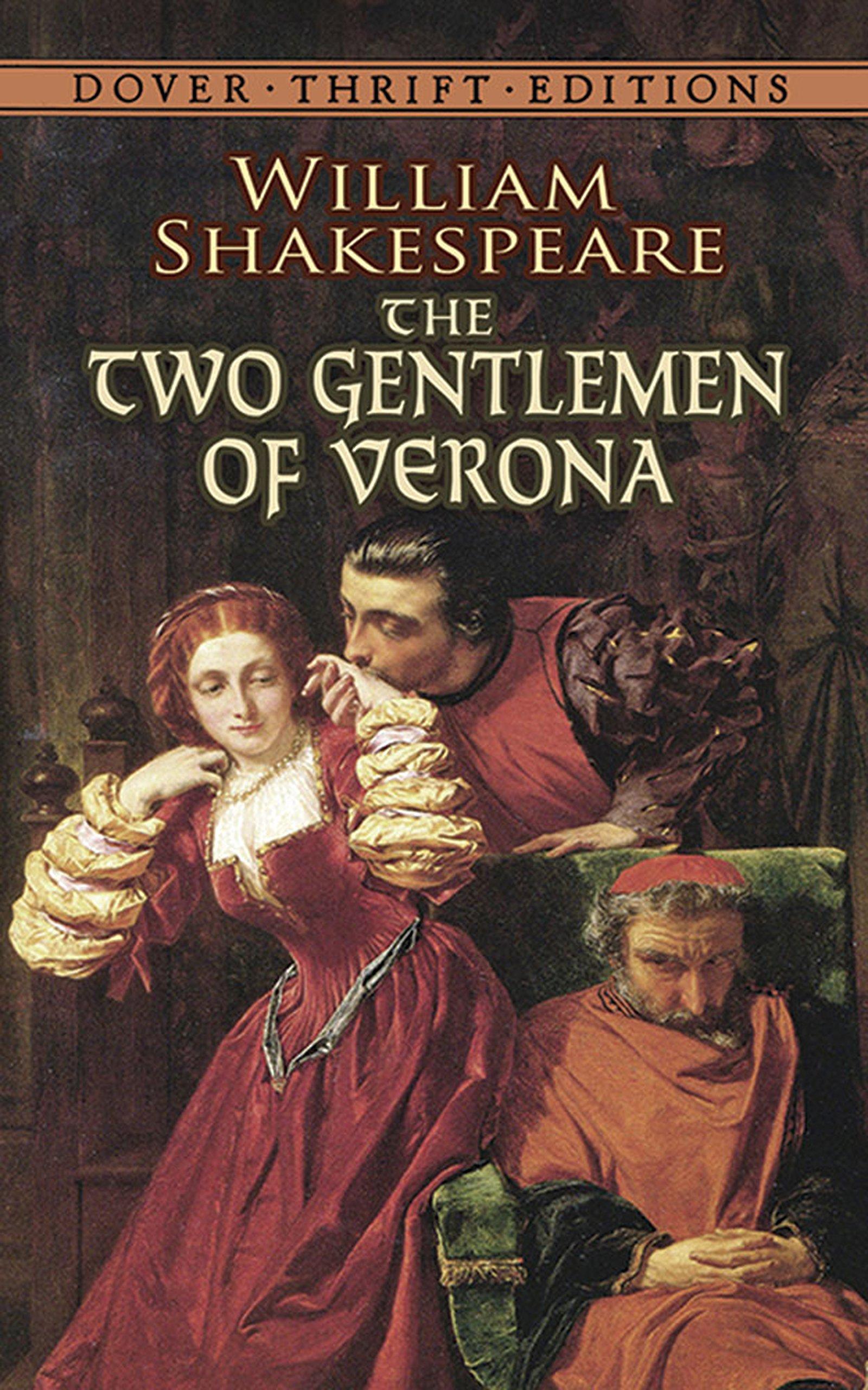 The Two Gentlemen Of Verona Dover Thrift Editions Amazon