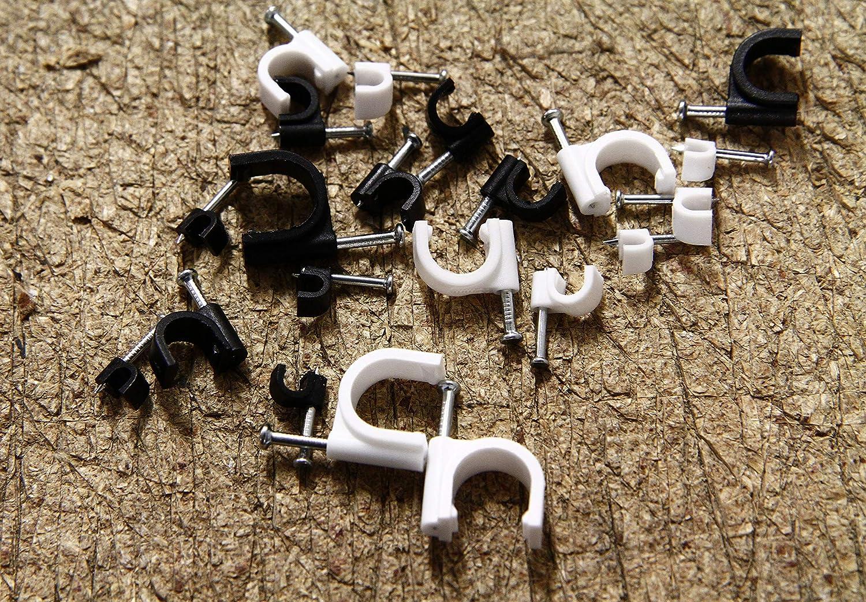 Rolson 61290 Câble Clip Assortiment 390 pièces