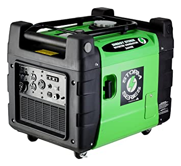 Lifan Energy Storm ESI 3600iER 3600 Watt 270cc 4-Stroke OHV Gas Powered  Portable Inverter Generator with Remote Start/Stop Key Fob and Portability  Kit