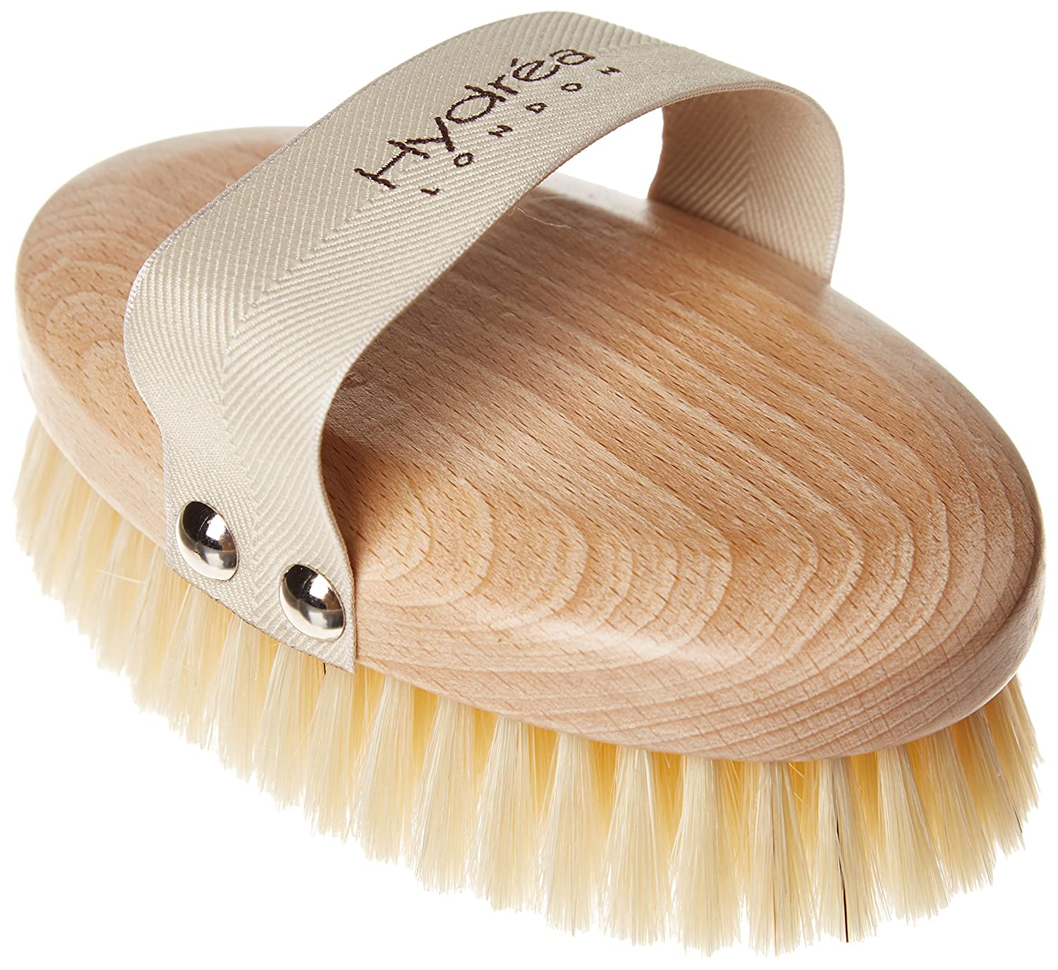 Professional Body Brush with Natural Bristles Hydrea London HYD20