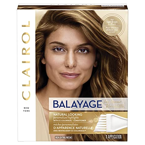 Buy Clairol Balayage For Brunettes Highlighting Hair Color