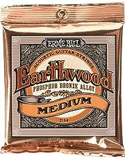 Ernie Ball Earthwood Medium Phosphor Bronze Acoustic String Set.013 - .056