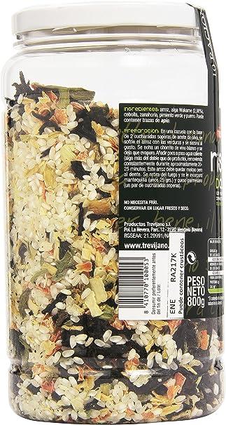 Trevijano - Risotto Dalgas con vegetales deshidratadas ...