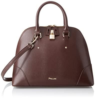 f52ba2f0b8 Pollini Sc4548pp04sn0300, Women's Top-Handle Bag, Marrone, 0.1x0.1x0 ...