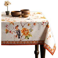 Maison d' Hermine Kelim 100% Cotton Prairie Tablecloth 54 Inch by 54 Inch. Perfect for Thanksgiving and Christmas