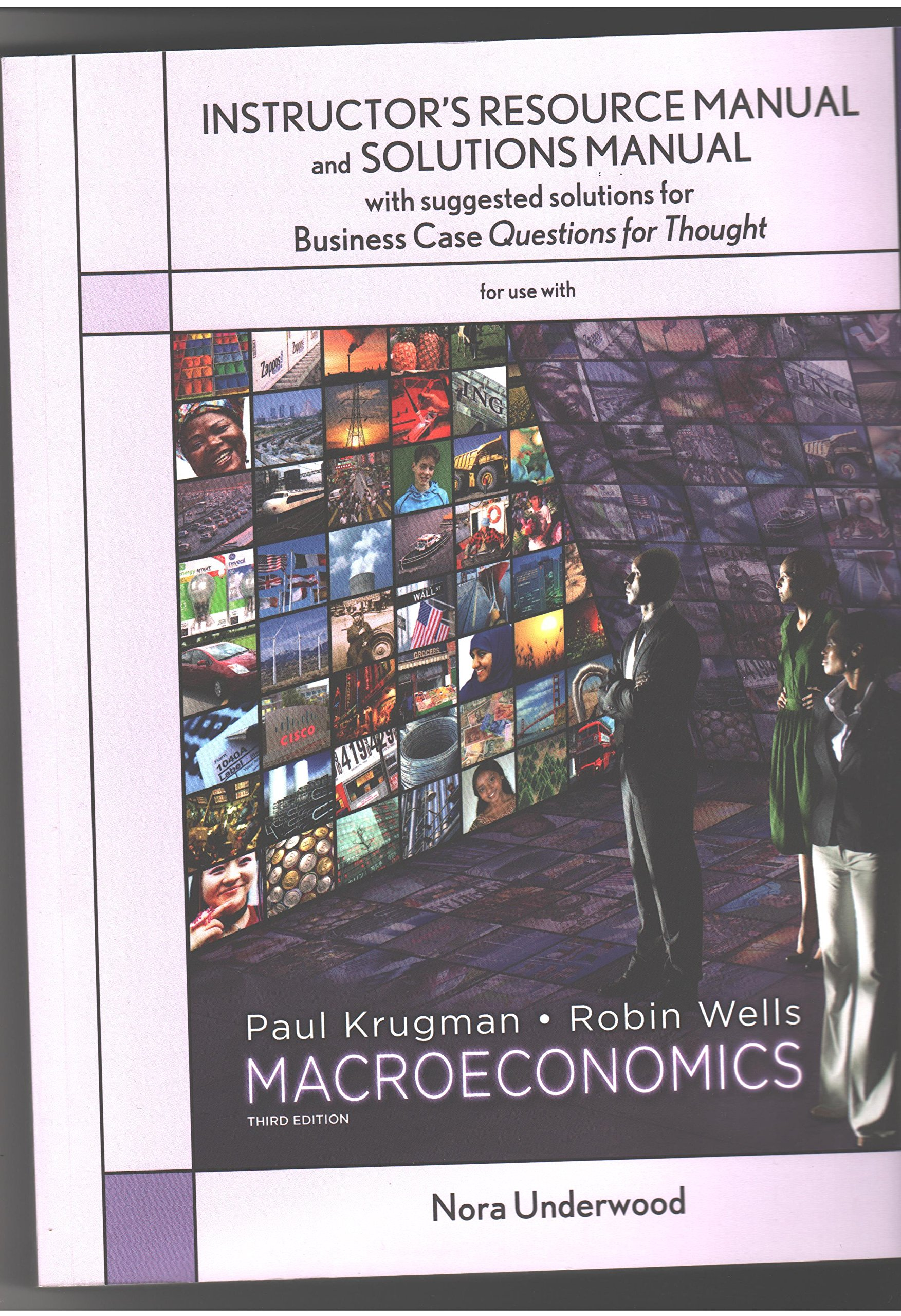 MACROECONOMICS INSTRUCTORS RESOURCE MANUAL: KRUGMAN, WELLS: 9780716763734:  Amazon.com: Books