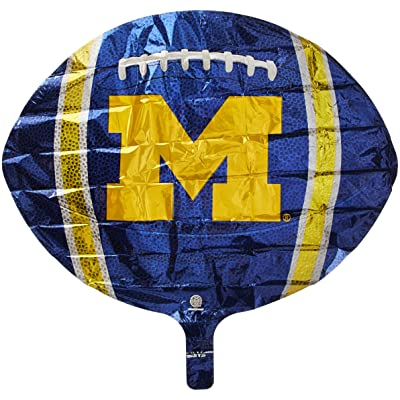 University of Michigan Wolverines Foil Balloon: Toys & Games