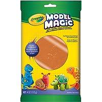 Crayola Model Magic, Terra Cotta, 4 onzas sin ensuciar, suave, esponjoso, ligero material de modelado para niños 4 y más, fácil de pintar y decorar, secado al aire suave – 57-4464