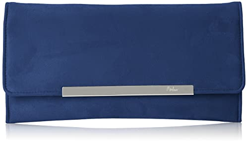 MENBUR - Trebbia, Carteras de mano Mujer, Blau, 4x15x30 cm (B x