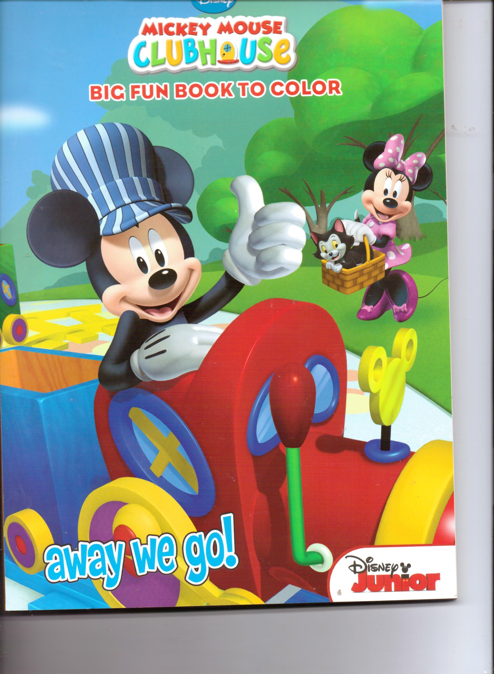 Read Online Mickey Mouse Clubhouse Big Fun Book to Color ~ Away We Go ebook