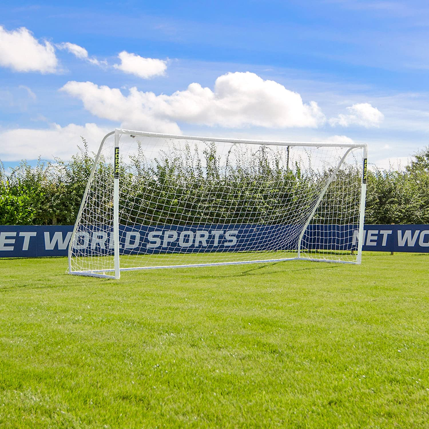 16 ft x 7 ft Forza Soccer Goal & Net – 最大のポータブルサッカーゴール使用可能。[ Net世界スポーツ] B076D9HH93 Goal Only