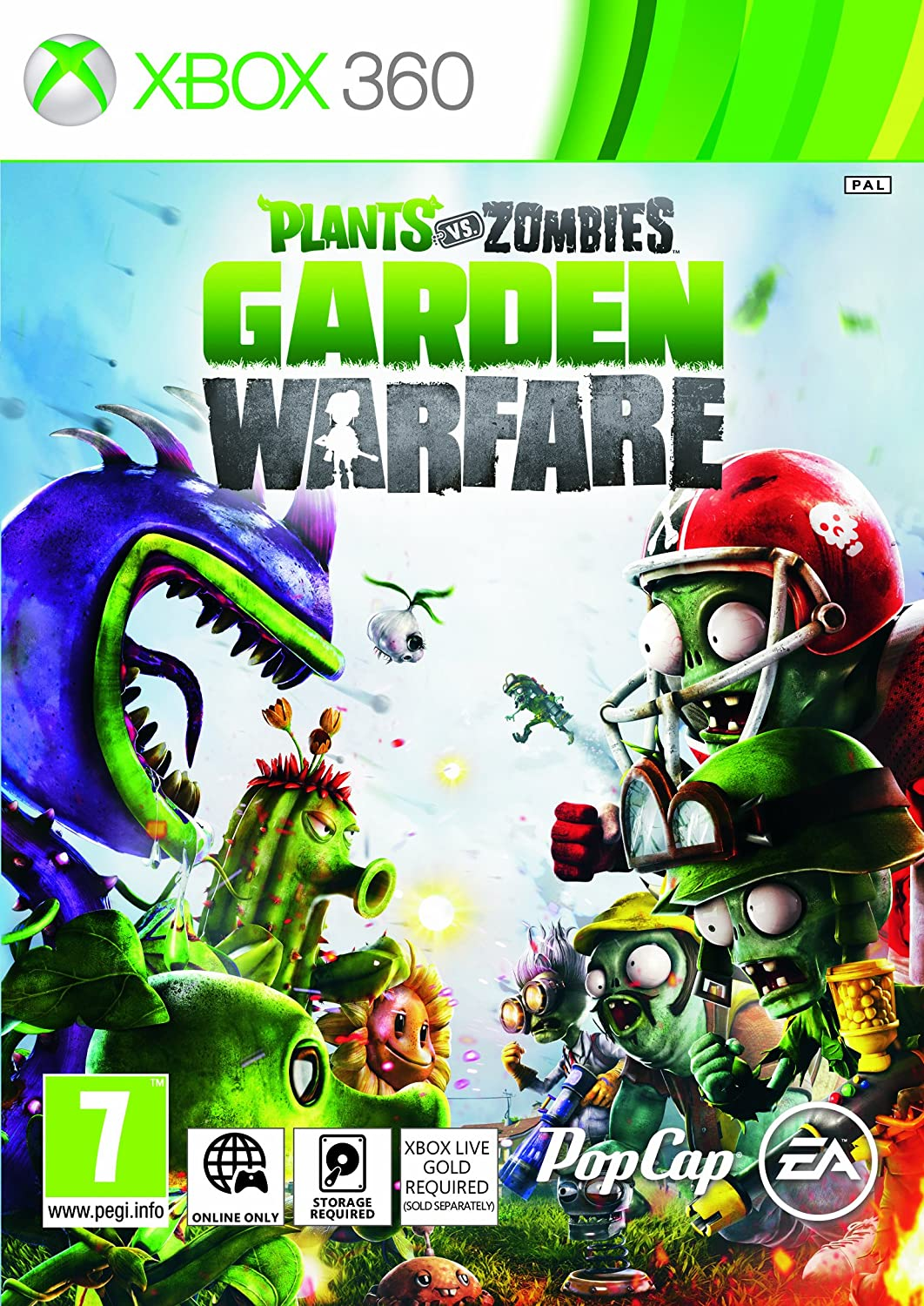 Plants Vs Zombies Garden Warfare Xbox 360 Amazoncouk PC