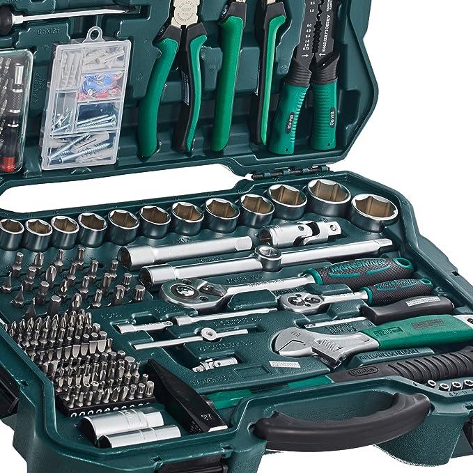 Mannesmann - M29088-303 piezas Juego de llaves de vaso y herramientas: Amazon.es: Bricolaje y herramientas