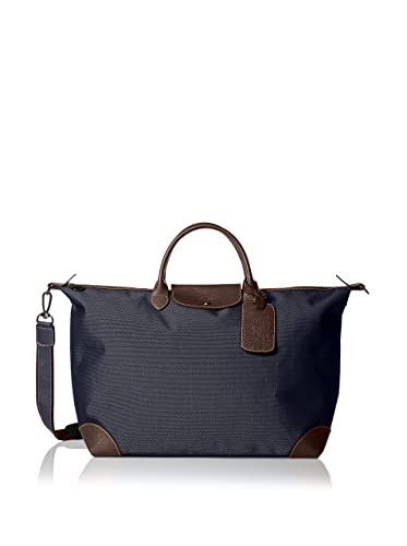 65bf8ac73 Image Unavailable. Image not available for. Color: Longchamp Uni Navy Blue  Boxwood Extra Large Travel Duffel Bag