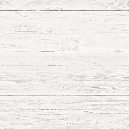 NuWallpaper NU2187 Shiplap Peel Stick Wallpaper