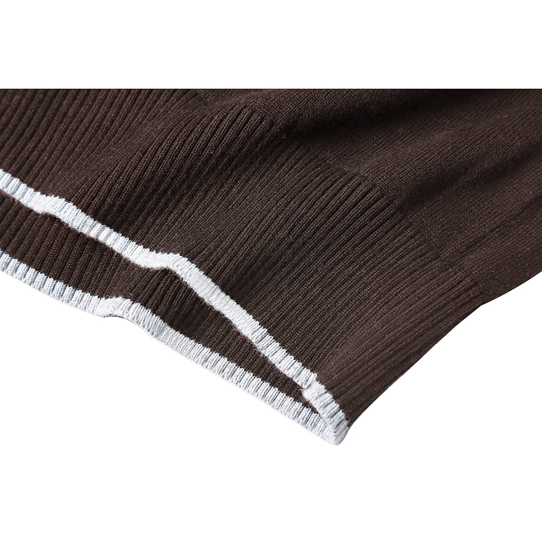 1b615117bb MOCOTONO Men s V Neck Pullover Sweater Long Sleeve Cotton Casual Sweat  Dress MY-SB011 larger image