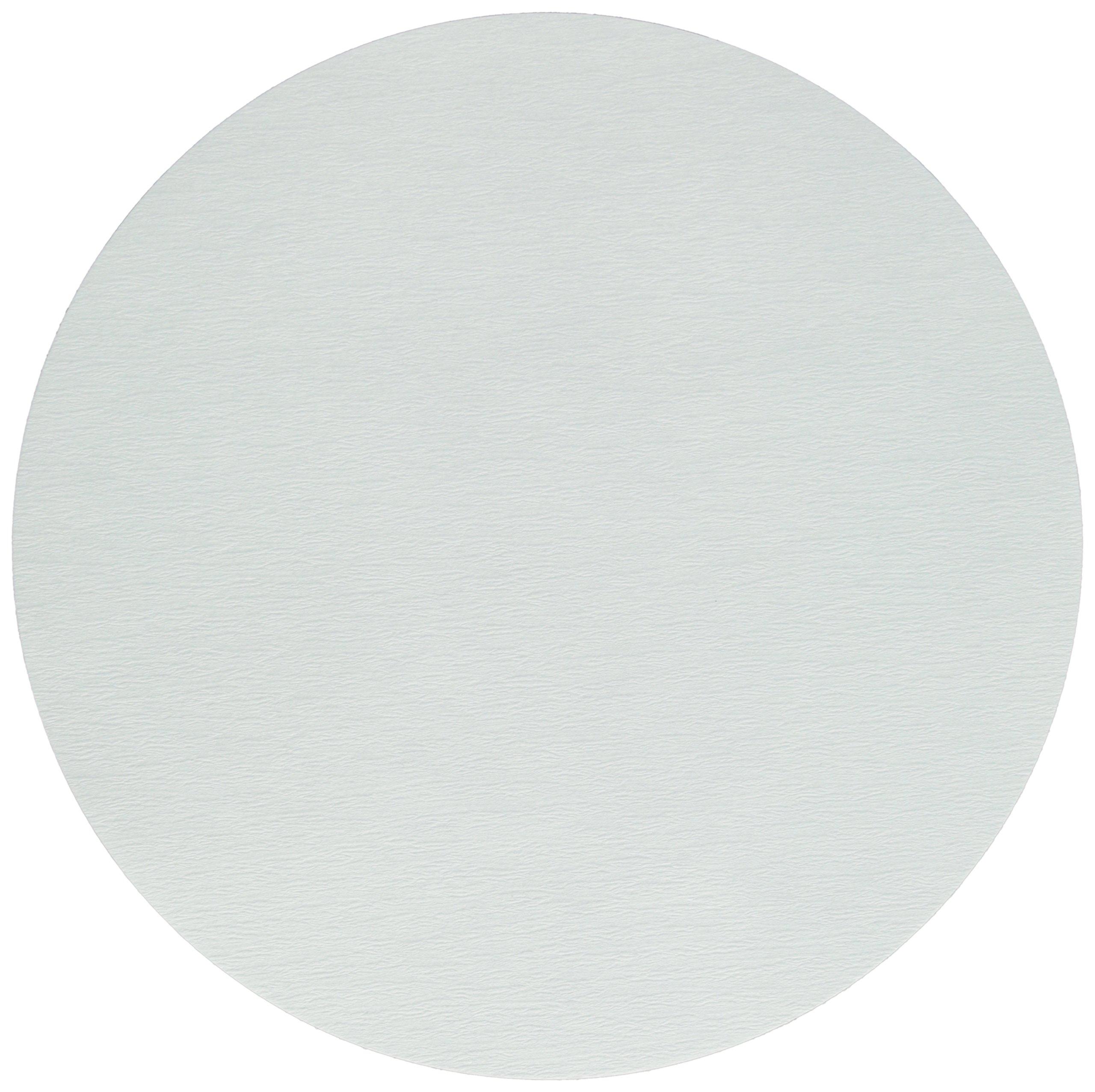GE Whatman Reeve Angel 5202-250 Qualitative Filter Paper, Circle, Crepe Surface, Medium-Fast Speed, Grade 202, 25cm Diameter (Pack of 100) by Whatman (Image #1)