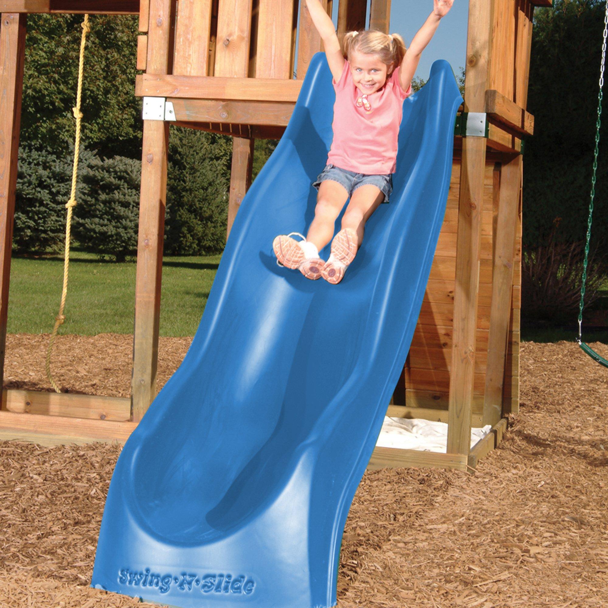 Swing-N-Slide NE 3054 Speedwave Slide Plastic Slide for 4' Decks with, Blue by Swing-N-Slide (Image #3)