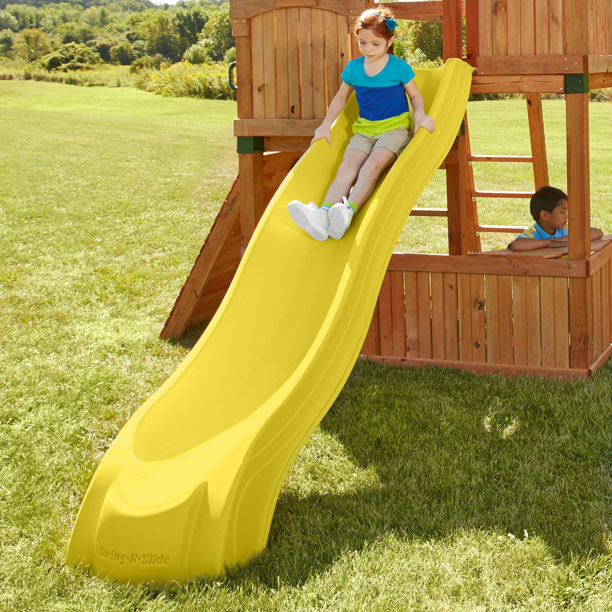 Alpine Wave Slide, Yellow by Swing-N-Slide (Image #2)
